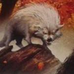 緑コモンの狼「Quilled Wolf」が非公式スポイラーにて公開!※日本語名は「針毛の狼」!