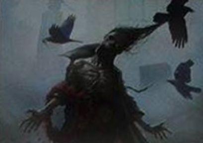 黒コモンのソーサリー「Shamble Back」(イニストラードを覆う影)