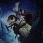 青コモンのホムンクルス「Furtive Homunculus」が非公式スポイラーにて公開!※日本語名は「隠れるホムンクルス」!