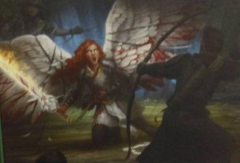 緑コモンのインスタント「Clip Wings」(イニストラードを覆う影)