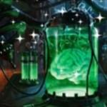 レアのアーティファクト「Brain in a Bottle」が非公式スポイラーで公開!※日本語版カード「瓶詰め脳」が公開!