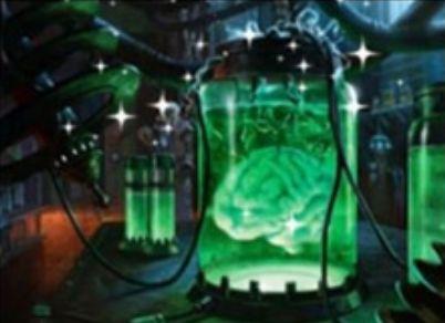 レアのアーティファクト「Brain in a Bottle」が非公式スポイラーで公開!(イニストラードを覆う影 リーク・不確定情報)