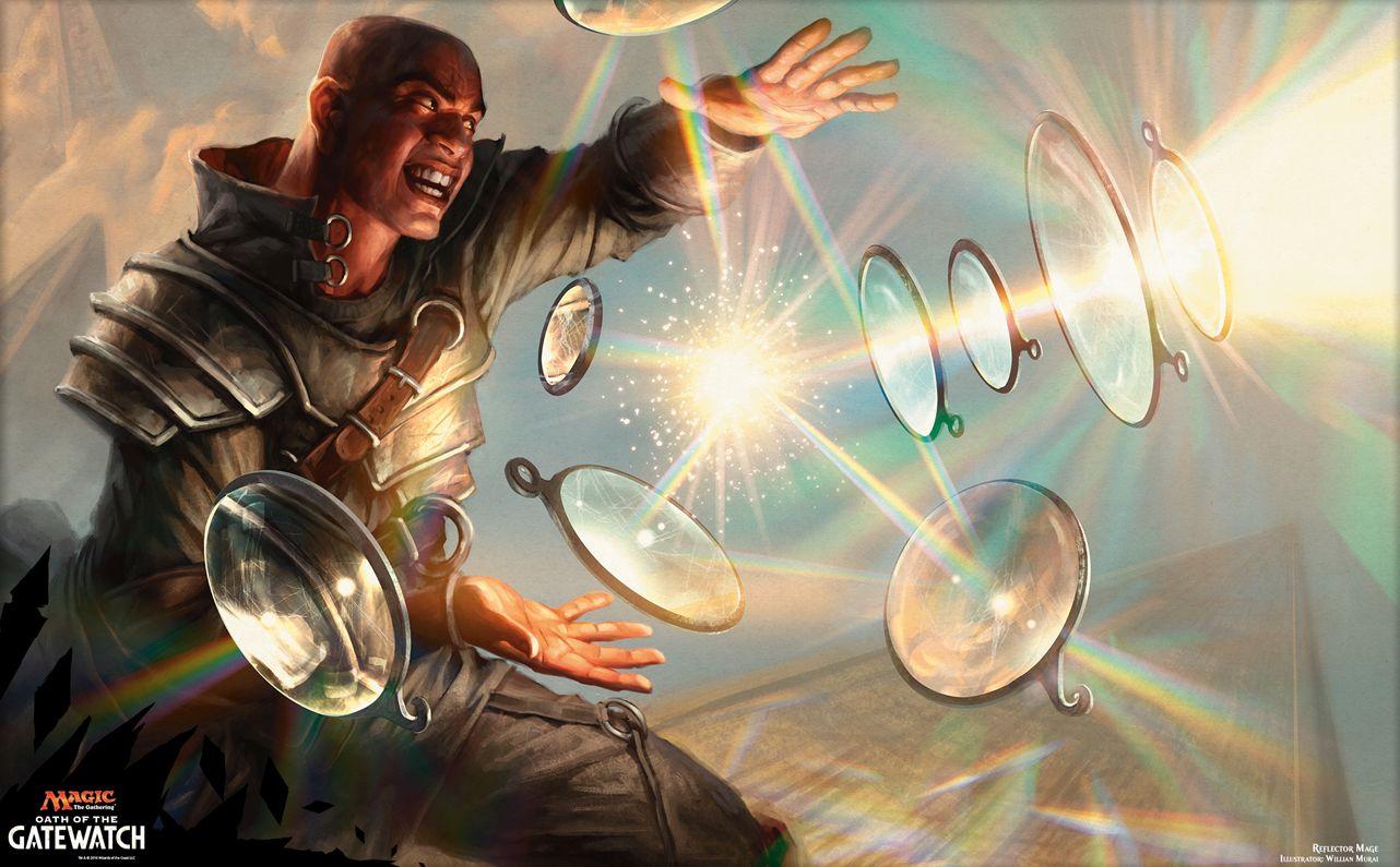 反射魔道士(MTG公式壁紙)