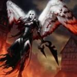 赤の伝説神話天使「浄化の天使、アヴァシン(イニストラードを覆う影)」が公開!変身時に全クリーチャーと対戦相手に3点ダメージ!