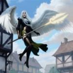白の伝説神話天使「大天使アヴァシン」がイニストラードを覆う影に収録決定!瞬速&警戒&飛行に加え、CIPで自軍のクリーチャーを破壊不能に!さらに変身すると・・・