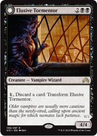 Elusive Tormentor(イニストラードを覆う影)