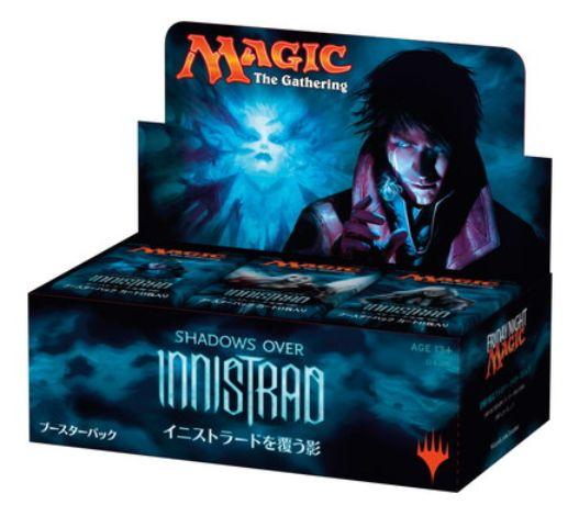 MTG「イニストラードを覆う影」 日本語版・英語版BOX