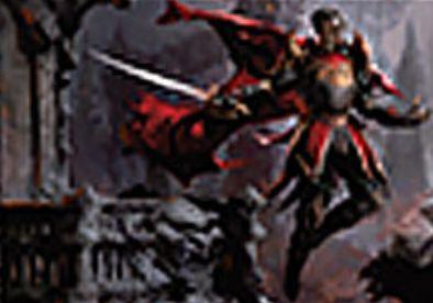 黒レアの吸血騎士「Markov Dreadknight」(イニストラードを覆う影)