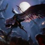 白神話のソーサリー「罪人への急襲(イニストラードを覆う影)」が公開!全クリーチャー追放&昂揚状態ならば天使トークンを生産!