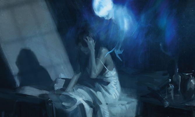 青神話ソーサリー「驚恐の目覚め(イニストラードを覆う影)」