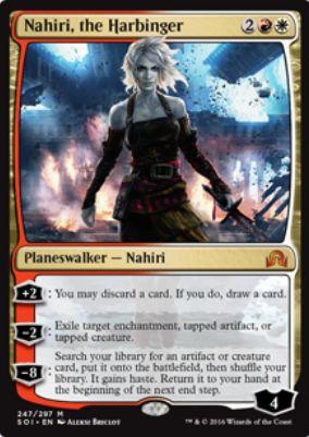 Nahiri, the Harbinger(イニストラードを覆う影)