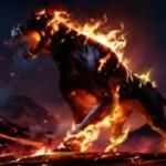 赤神話の狼「Wolf of Devil's Breach(イニストラードを覆う影)」が公開!攻撃時に手札を火力へと変換するスピリット!※日本語名は「悪魔の棲家の狼」!