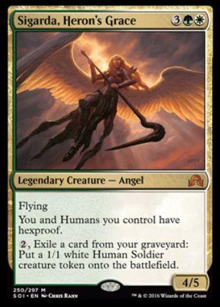 Sigarda, Heron's Grace(イニストラードを覆う影)