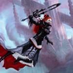 赤黒神話吸血鬼の新オリヴィア「Olivia, Mobilized for War」が公開!自軍にクリーチャーが出るたび、手札を捨てれば+1/+1カウンター&速攻&吸血鬼のタイプを付与!※日本語名は「戦争に向かう者、オリヴィア」