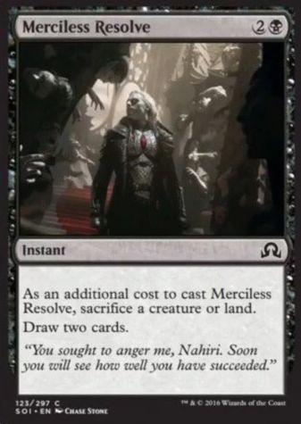 Merciless Resolve(イニストラードを覆う影)