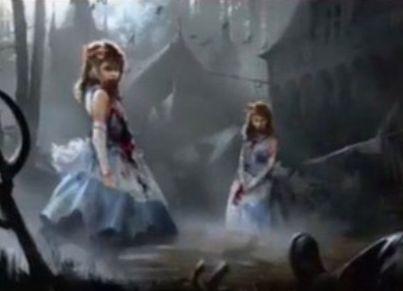 黒コモンの吸血鬼「Twins of Maurer Estate(イニストラードを覆う影)」
