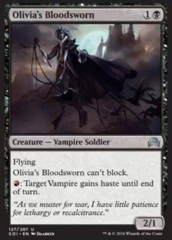 Olivia's Bloodsworn(イニストラードを覆う影)