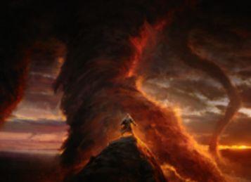 黒神話のソーサリー「来世の警告(イニストラードを覆う影)」