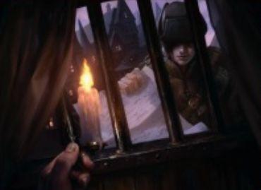赤アンコの狼男「Village Messenger」(イニストラードを覆う影)