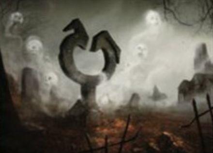 SOIにレア収録のアーティファクト「Corrupted Tombstone」(イニストラードを覆う影)