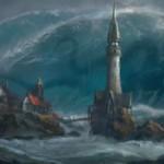 SOI収録の青レアインスタント「Engulf the Shore」が公開!自軍の島の数以下のタフネスを持つクリーチャーを全バウンス!※日本語名は「岸の飲み込み」!