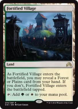 Fortified Village(イニストラードを覆う影)