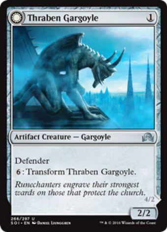Thraben Gargoyle(イニストラードを覆う影)