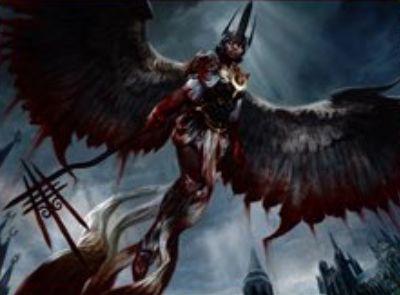SOI収録の赤神話天使「黄金夜の懲罰者」(イニストラードを覆う影)