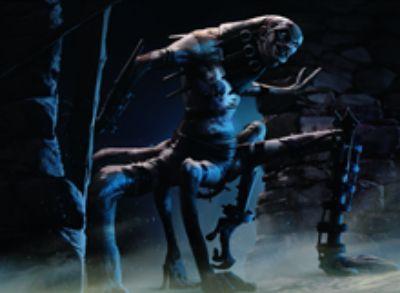 イニストラードを覆う影にレアで収録される青のゾンビ・ホラー(Forgotten Creation)