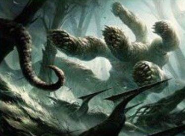 SOI収録の緑神話ハイドラ「ウルヴェンワルドのハイドラ」(イニストラードを覆う影)
