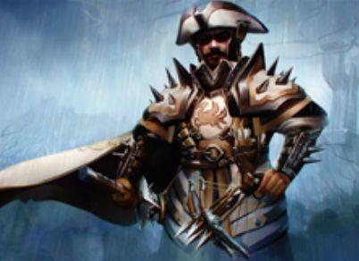イニストラードを覆う影のレア装備品「処刑者の板金鎧」(イニストラードを覆う影)