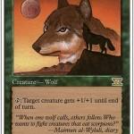 ワイルーリーの狼