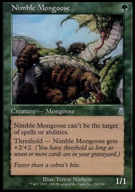 敏捷なマングース(Nimble Mongoose)(オデッセイ)