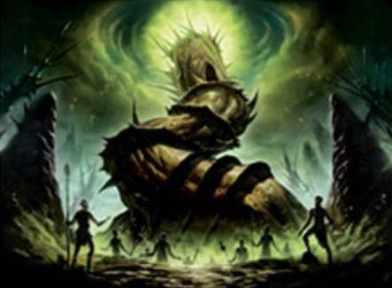 ミラディン包囲戦「緑の太陽の頂点」がエターナルマスターズのレア枠で再録決定!