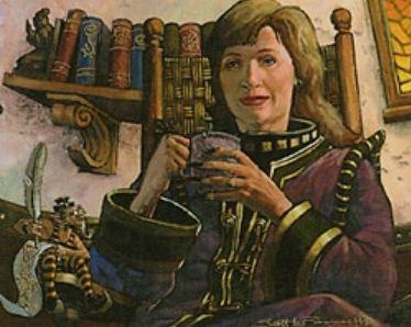 ウルザズ・レガシー「ルーンの母」がエターナルマスターズにてレアで再録!イラストはデュエルデッキ版が採用!
