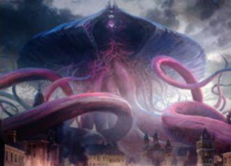 異界月の神話エルドラージ「約束された終末、エムラクール」が公開!タルモゴイフのコスト軽減能力&相手ターンをコントロール&飛行&トランプル&インスタントへのプロテクション!