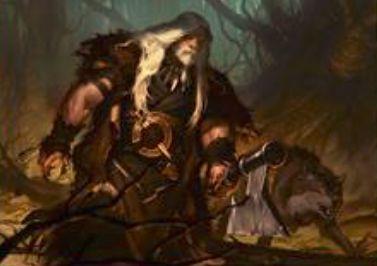MTG「異界月」に収録の伝説神話狼男「爪の群れのウルリッチ」が公開!CIPか変身時にPTに4ずつのプラス修正!