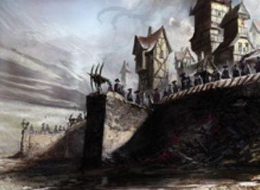 異界月に収録のレア土地「ハンウィアーの要塞」が公開!無色マナ生産&クリーチャーに速攻付与&合体変身で「のたうつ居住区、ハンウィアー」に!