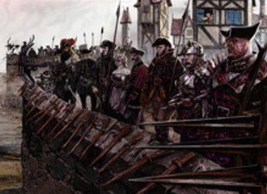 異界月に収録の赤レア兵士「ハンウィアーの守備隊」が公開!攻撃時に攻撃状態トークンを生産&「ハンウィアーの要塞」と合体変身!