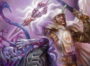 異界月にコモン収録の黒インスタント「邪悪借用」が公開!能力「増呪」によって複数のモードを両方選択可能に!