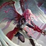 異界月に収録の伝説神話天使「折れた翼、ギセラ」が公開!飛行&先制攻撃&絆魂に加え、ブルーナと合体して「悪夢の声、ブリセラ」へと変貌!