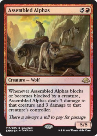 Assembled Alphas(レア 異界月)