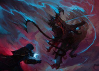 異界月にアンコ収録の青インスタント「非実体化」が公開!呪文かクリーチャーを対象にしたバウンス!