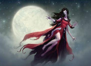 異界月収録のレア吸血鬼「Voldaren Pariah」が公開!マッドネスなら黒黒黒で登場&3体のクリーチャーを生贄にして変身!