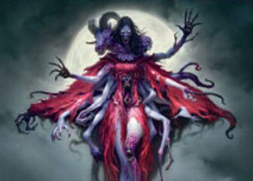 異界月に収録のエルドラージ吸血鬼「Abolisher of Bloodlines」が公開!変身時に3体生贄を強制する両面クリーチャー!