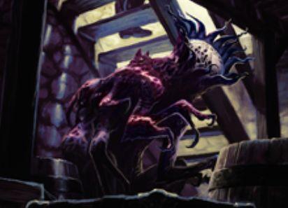 異界月にレア収録の無色エルドラージ「永遠の災い魔」が公開!相手の呪文の対象になるたびに追放されるが、追放領域から唱えられる!