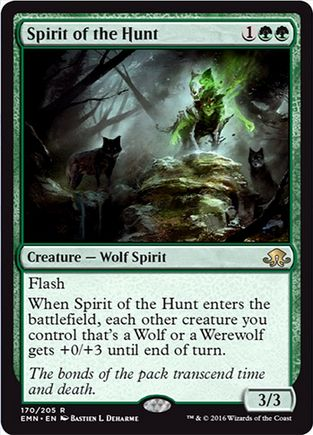 Spirit of the Hunt(レア 異界月)