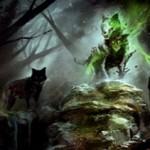 異界月にレア収録の緑スピリット狼「Spirit of the Hunt」が公開!瞬速&CIPで狼や狼男のタフネスを3増強!※日本語名は「狩りの精霊」!