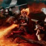 チャンドラが描かれたソーサリー「United Resistance」が異界月にレア収録!増呪で「手札交換」「クリーチャー火力」「プレイヤー火力」を選択発動!※日本語名は「集団的抵抗」!