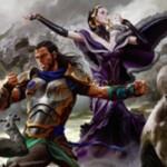 異界月収録の白神話ソーサリー「Deploy the Gatewatch」が公開!ライブラリートップ7枚を見てプレインズウォーカー2枚までを戦場へ!※日本語名は「ゲートウォッチ配備」!